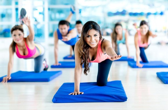 Indoor exercise classes will resume from May 17. Photo by Shutterstock/ESB Professional.