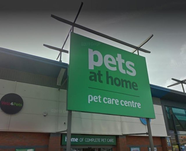The Pets at Home store at Chesterfield's Ravenside Retail Park. Picture from Google Street View.