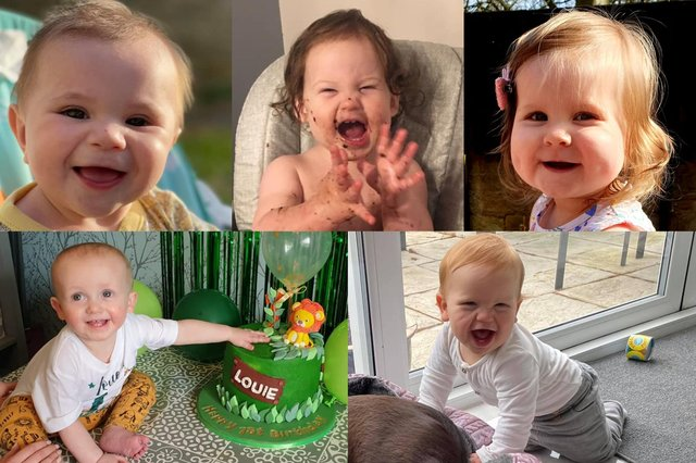 Our readers sent in pictures of their lockdown babies, who are celebrating their first birthdays this spring and summer.
