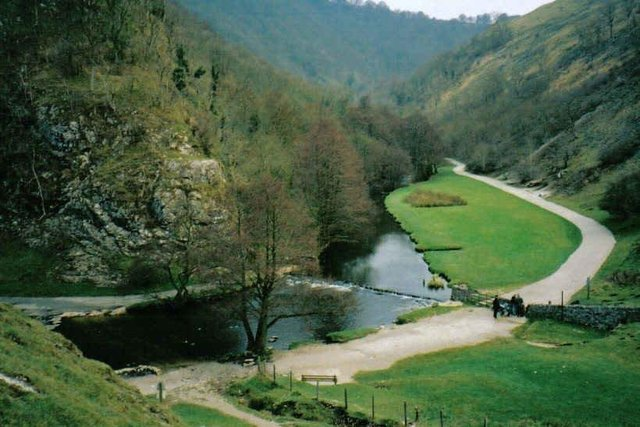 Some 10,000 people visited Dovedale in the Peak District over the weekend