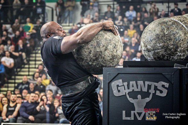 Britain's Strongest Man competition will take place at Sheffield Arena.