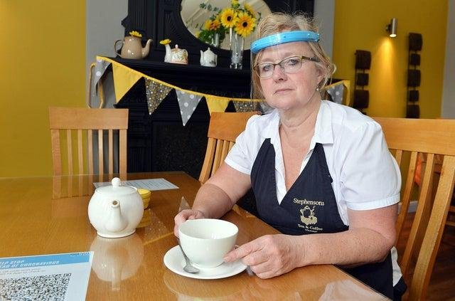 Stephensons' owner Claire Wood pictured last year.