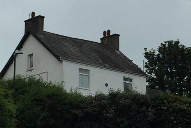 The house at Spital Gardens, Chesterfield, where burse Anne Veronica Fletcher lived.