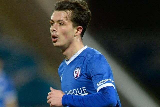 Jack Clarke sparkled in Chesterfield's win against Barnet on Saturday.