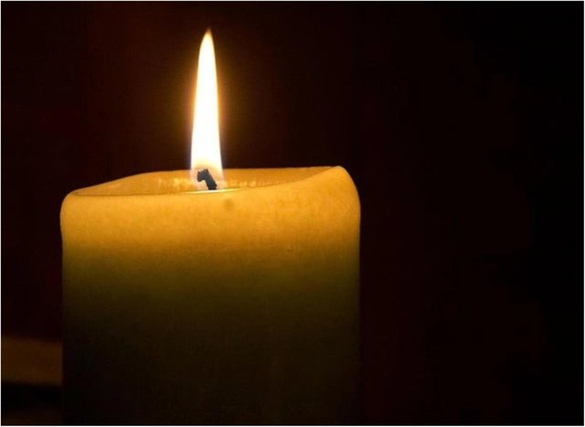 Light a candle at 7pm tonight.