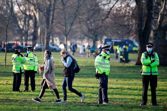 Residents from Mansfield broke lockdown by travelling to Chesterfield last weekend. Credit: TOLGA AKMEN/ AFP via Getty Images.