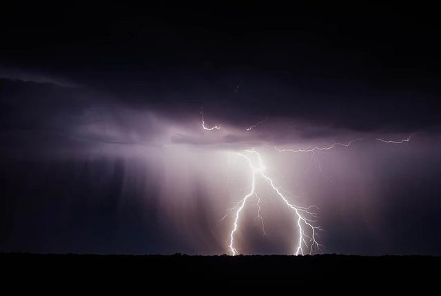Thunderstorms are forecast to hit Derbyshire.