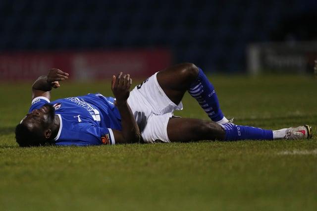 Akwasi Asante ruptured his ACL in April.