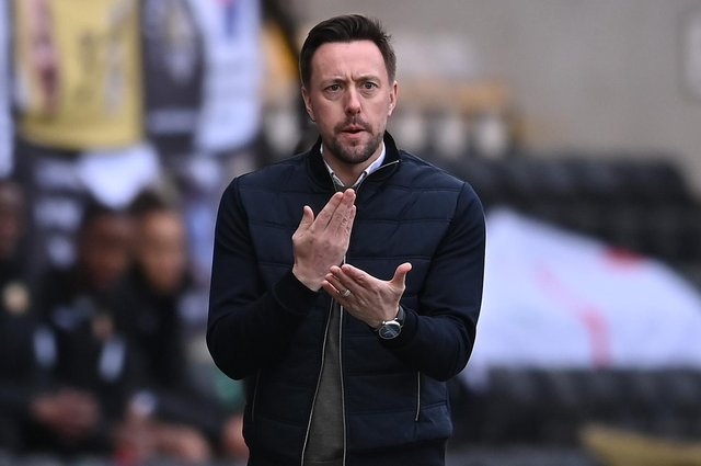 Notts County manager Ian Burchnall.