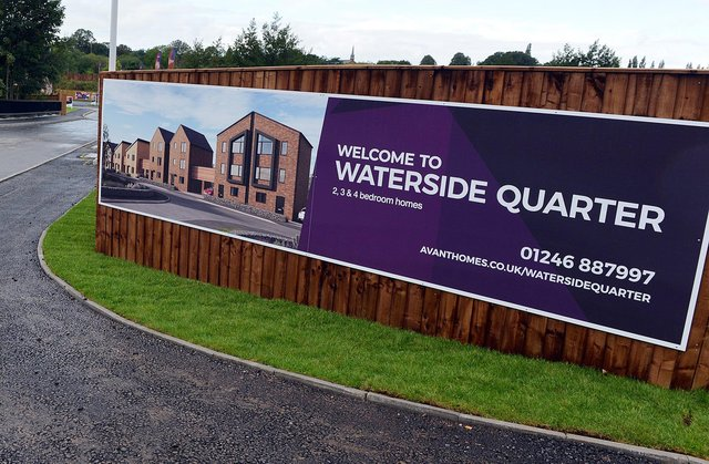 The Waterside development at Chesterfield is one of the UK's largest regeneration schemes.