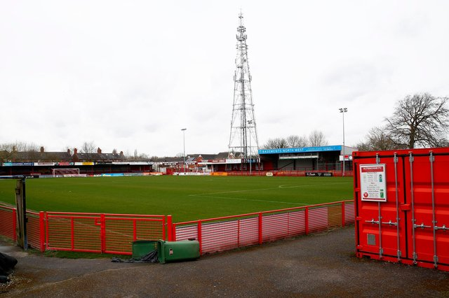 Live updates from Altrincham v Eastleigh.