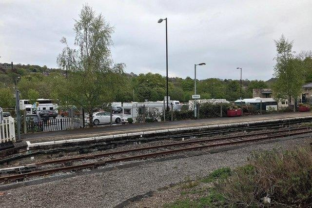 The number of Travellers in Matlock station car park has grown in recent days.
