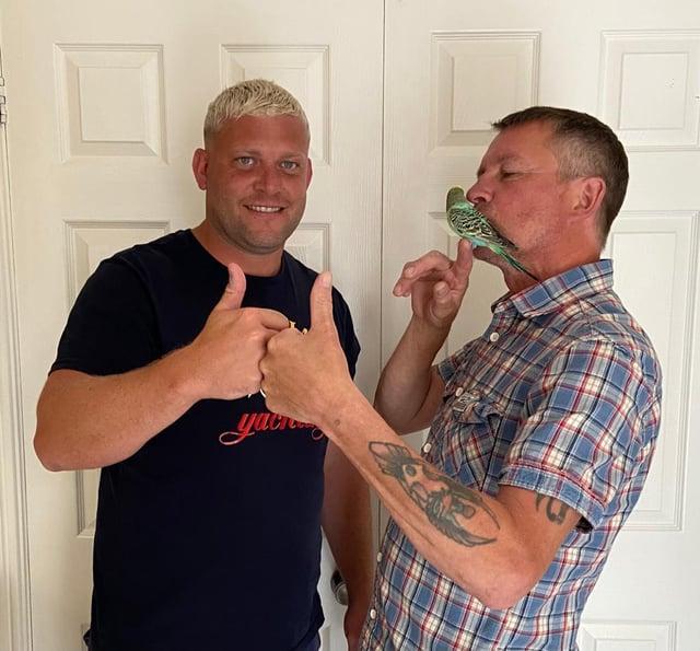 MattYork, 33, and friend Pat Matthews, 55, along with Budge Budge, have become TikTok stars.
