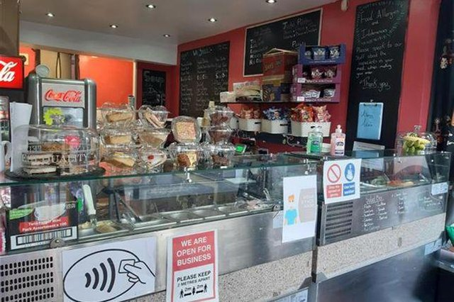 Shop units, former takeaways and coffee shops are among a range of businesses currently available in and around Chesterfield.