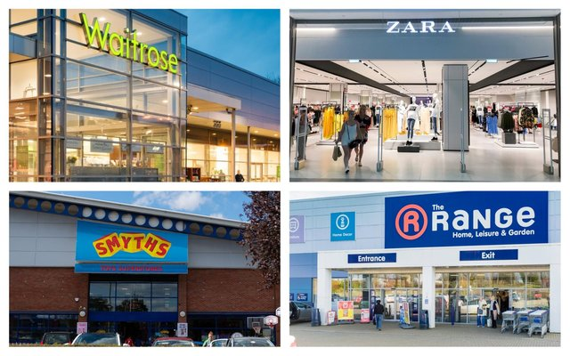 What big-name retailer would you like to see move into the former Debenhams site at Chesterfield's Ravenside retail park? (photo montage: Shutterstock)