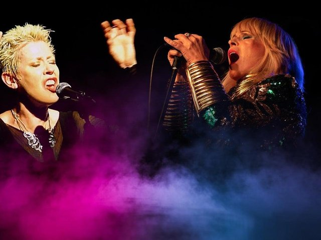 Hazel O'Connor and Toyah star in Electric Ladies of the 80s show touring to Buxton Opera House.