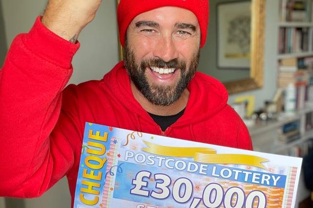 People's Postcode Lottery ambassador Matt Johnson.