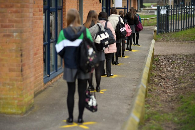 Derbyshire pupils missed more than 300,000 days of face-to-face teaching in the autumn term after having to self-isolate or shield due to Covid-19, figures reveal.