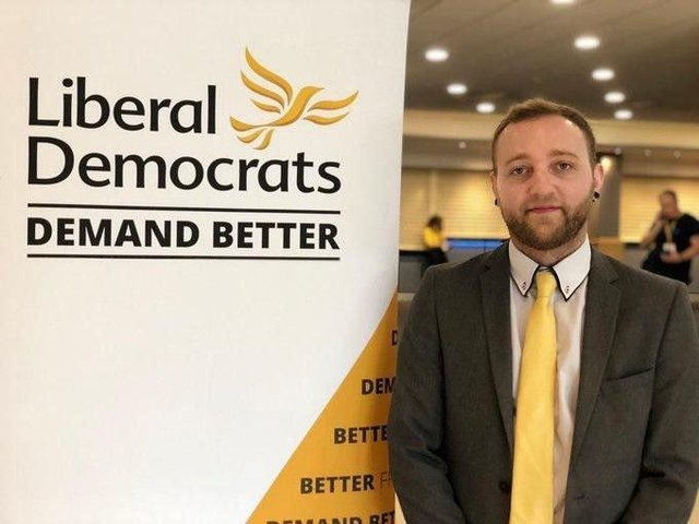 Councillor Ross Shipman, leader of the Liberal Democrats on North East Derbyshire District Council.