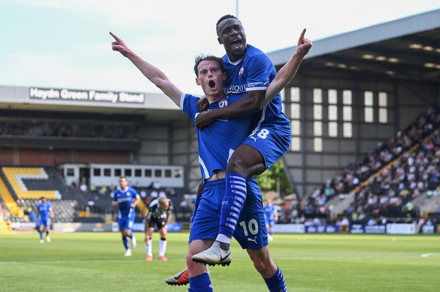 Notts County v Chesterfield - live updates.
