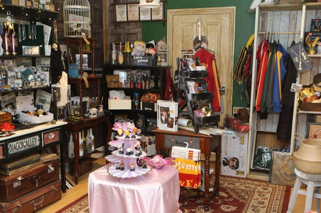 Something for the witch and wizard in your life at the Harry Potter themed shop