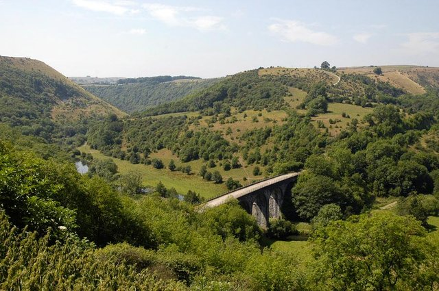 Spectacular view of Monsal Viaduct. Photo by Ray Manley/Peak District National Park Authority.