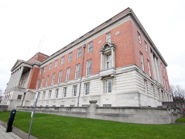 The inquest was held at Chesterfield Town Hall.
