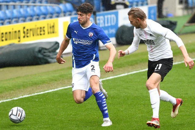 Chesterfield are still in with a chance of making the play-offs as the season draws to a close.