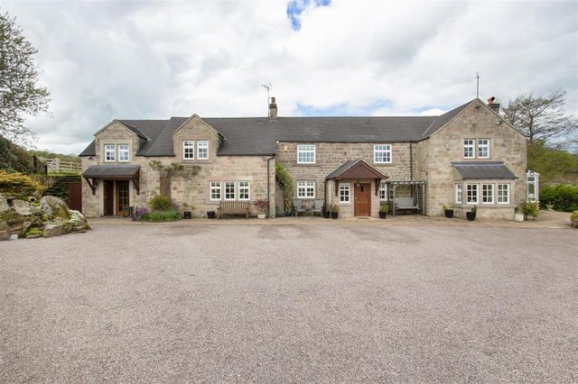 Yew Tree Lodge boasts six bedrooms, five bathrooms and five reception rooms.