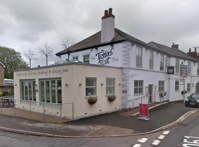 The Tickled Trout at Barlow said it has been hit with a barrage of abuse after being forced to temporarily close