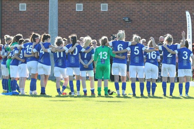 Chesterfield FC Women have been promoted to the East Midlands Premier Division.