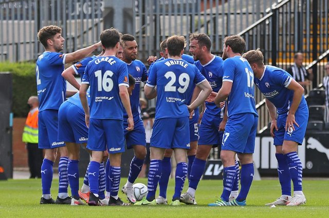 The Spireites have announced some of their plans for pre-season.