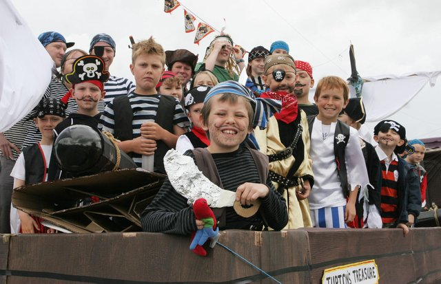 Do you recognise any of these young lads at Tupton Carnival in 2010?