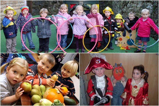 Spot anyone you know in these pictures from playgroups in Derbyshire?