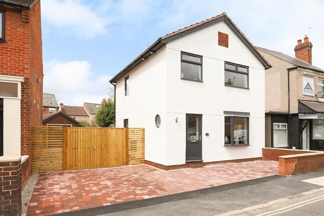 The three-bedroom detached home has no onward chain.