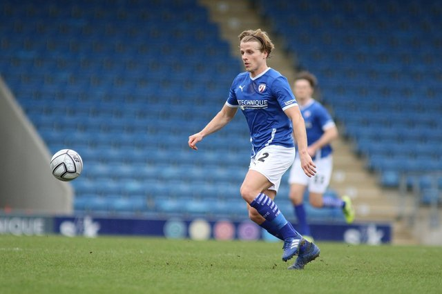 Tom Whelan's first-half goal was enough for all three points against Weymouth on Saturday.