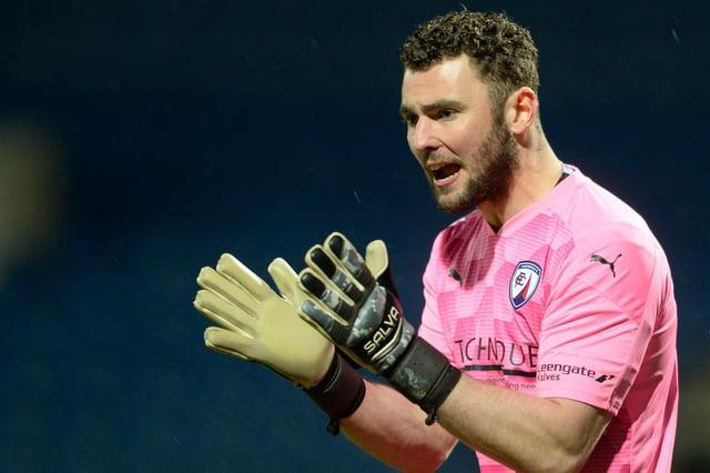 Goalkeeper Grant Smith has left Chesterfield.