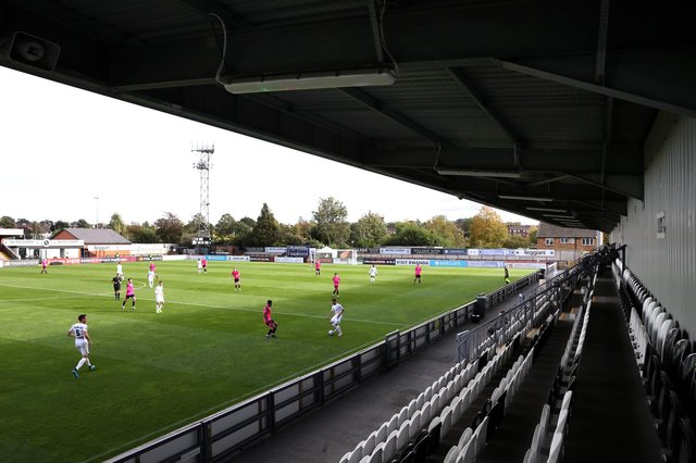 Boreham Wood's application for a loan from Sport England has been turned down (photo by Linnea Rheborg/Getty Images).