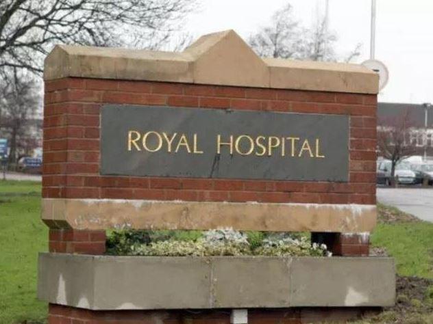 Chesterfield Royal Hospital.