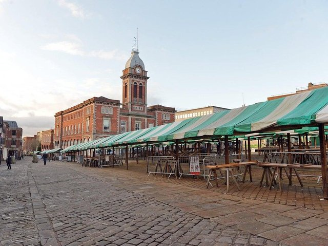 Chesterfield Market Place.