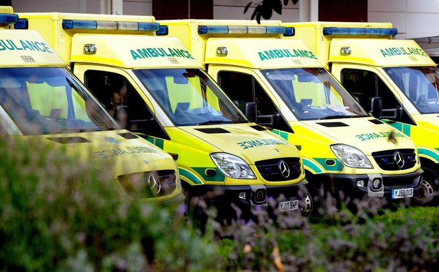 A driver has been taken to hospital following a collision between a car and a tipper lorry at Bullbridge Hill in Belper this afternoon.