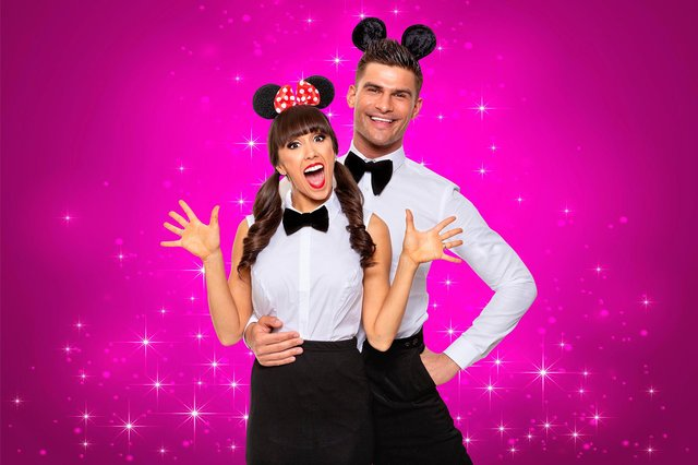 Aljaž and Janette will honour Disney films in Remembering the Oscars. Photo by Colin Thomas.