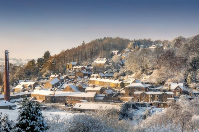 Ashley Franklin was also highly commended for his panorama of Milford in Derbyshire.
