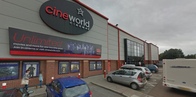 East Midlands Ambulance Service said one patient had been transported to hospital after a medical emergency at Chesterfield Cineworld last night