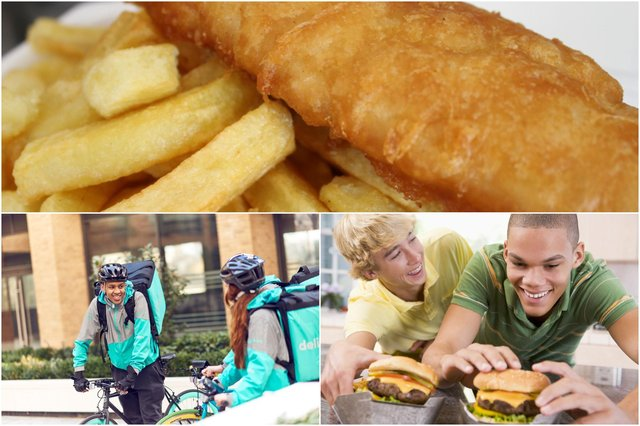 What is your favourite Friday night takeaway? Main photo and photo on the right in the montage, by Shutterstock.