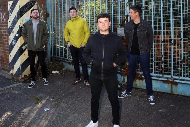 The Rosadocs are lead guitarist Joe Egan, bassist Adam Sleight, frontman Keelan Graney and drummer Callum Raynor.