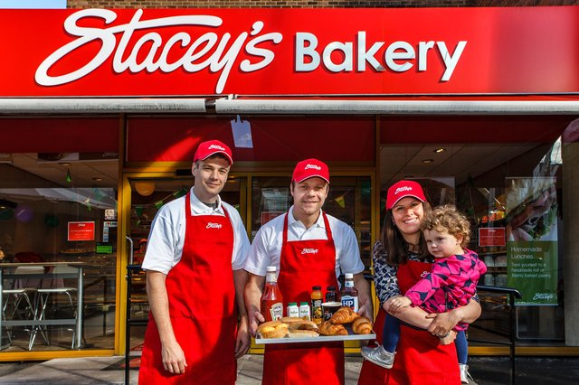 Stacey's Bakery has branches in Ilkeston's South Street and Bath Street, as well as in Eastwood and Heanor.