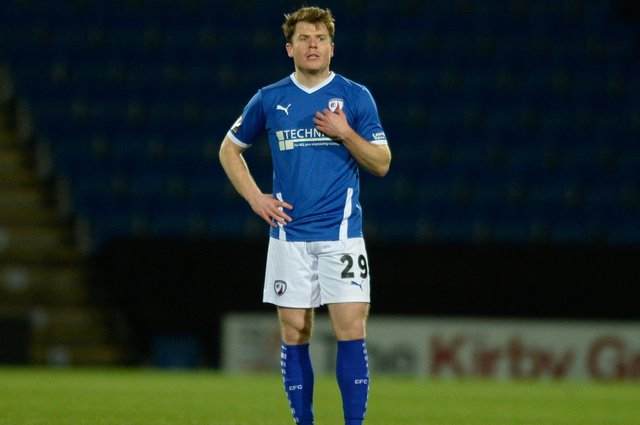 Alex Whittle's first goal for Chesterfield was enough to secure all three points against Aldershot Town.
