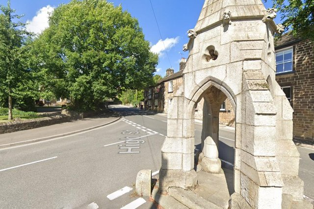 The Rotary Club of Dronfield has launched a petition seeking support for a new skatepark in the town. Pictured is Dronfield High Street and The Peel Monument (google)