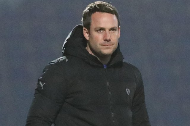 Chesterfield manager James Rowe said his team's performance against Eastleigh was 'fantastic'. Picture: Tina Jenner